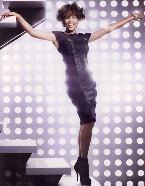 Scenery: Whitney Houston for InStyle Magazine