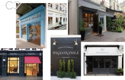 Macaron Franchise: Storefront Design Options
