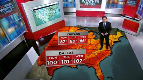 CNN Weather Center: 2016