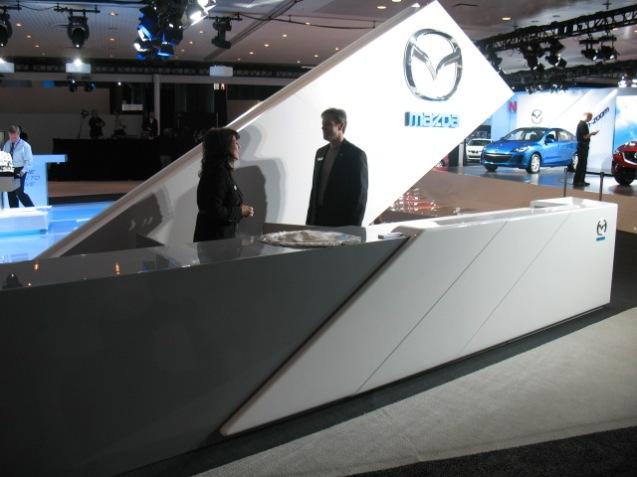 Mazda Trade Show: 2011